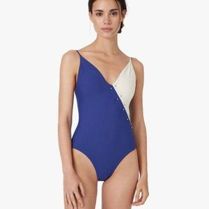 NWT Onia JACQUE Rib One Piece Revolve Swimsuit